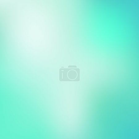 Illustration for Blue blur background. Vector illustration EPS 10 - Royalty Free Image