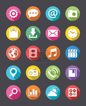 App Icons Collection Flat Look