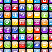 App icons 3d Texture with Reflection