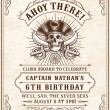 Vintage Looking Invite Template for a Party or Eve...