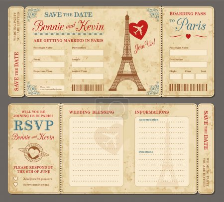501 Paris Wedding invitation def