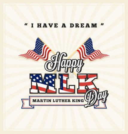 Martin luther king day greeting