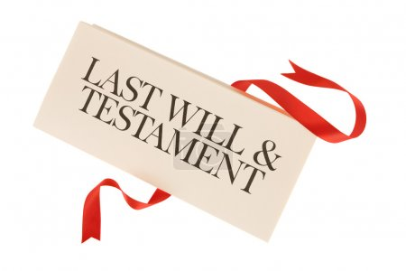 Last will and testament documents