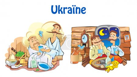 Ukraine vector illustration.