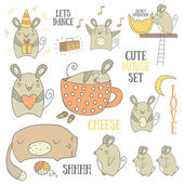 Cute mouses collection