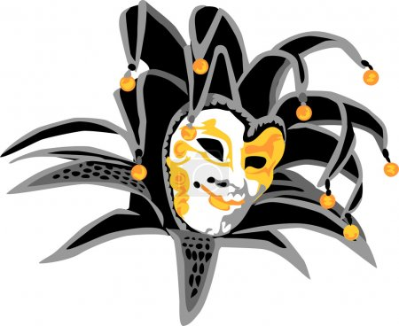 Illustration for Color vector illustration of mask - Royalty Free Image