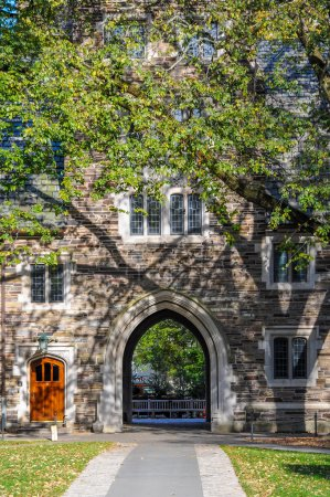 Princeton University, one of famous American unive...