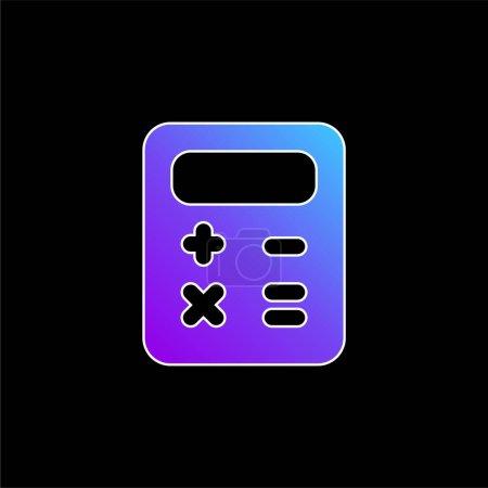 Balance Sheet blue gradient vector icon