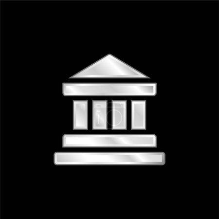 Foto de Banco plateado icono metálico - Imagen libre de derechos