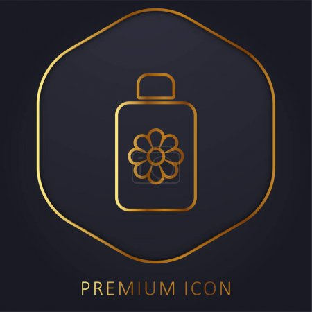 Body Lotion Golden Line Premium Logo oder Symbol