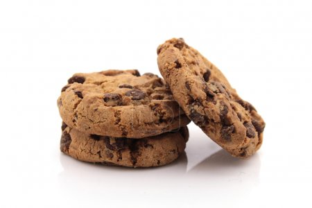 Photo for Cookies on white background - Royalty Free Image