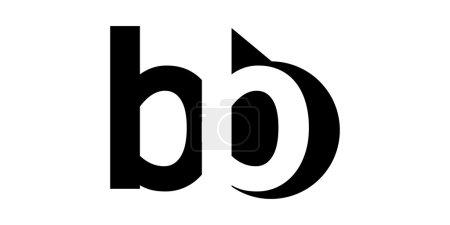 Illustration pour Lettre Modèle de logo pour les entreprises et l'industrie - image libre de droit
