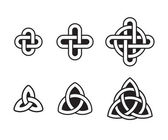 Celtic knot set