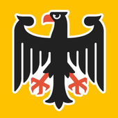 Germany coat of arms eagle