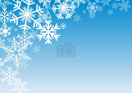 Illustration for Vector Winter Background - Royalty Free Image