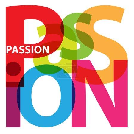 Vector Passion. Broken text