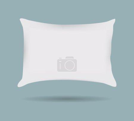 Illustration pour Motif oreiller Taie d'oreiller décorative. Isolé sur le blanc. Élément de design d'intérieur. Illustration de vecteur - image libre de droit