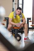 Portrét mladého muže, fyzicky fit