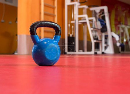 Blue Kettle Bell Weight Steel Composition