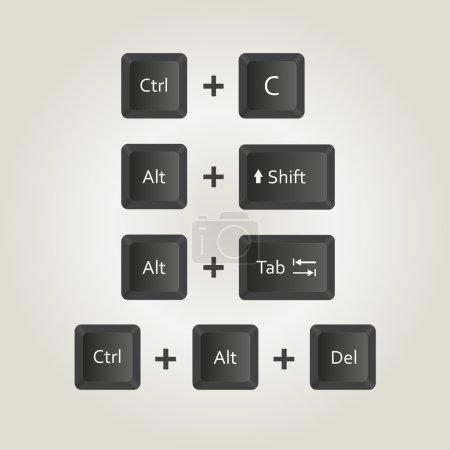 illustration shortcut key