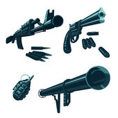 Weapon icon collection