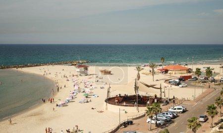 plages de Netanya Israël