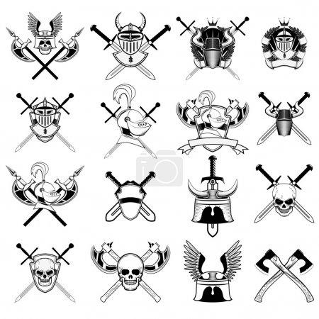 knight logo set