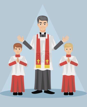 christian catholic priest