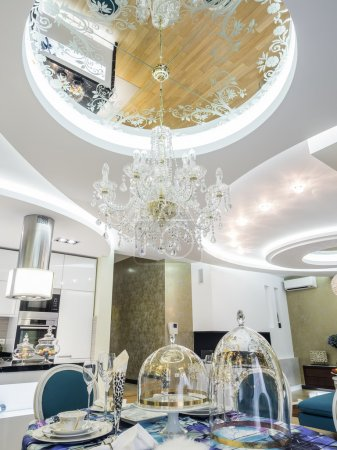 Ceiling design and lighting