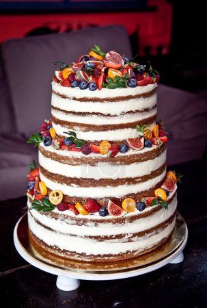 Wedding 3-tier cake