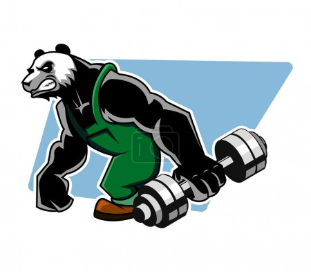 Panda Grab Dumbbell