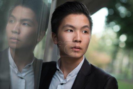 Stylish Chinese businessman