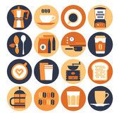 Coffeeshop icon set
