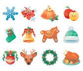Icon set weihnachten
