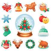 winter holidays symbols