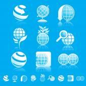 Earth icon set