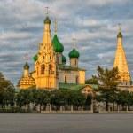 The Church of Elijah the Prophet in Yaroslavl, Rus...