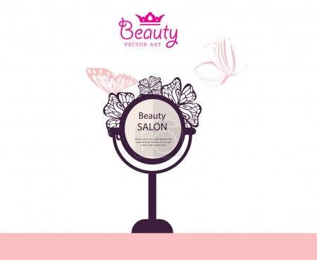 beauty salon background
