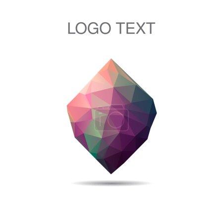 Triangle logo or icon of stone