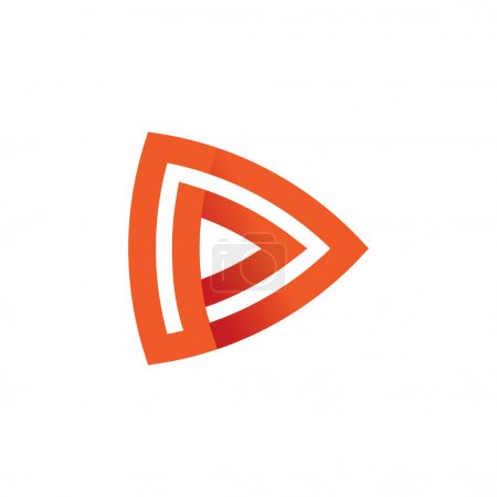 play triangle button logo