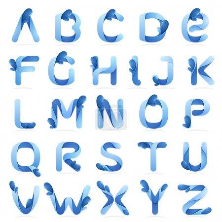 Ecology English alphabet letters