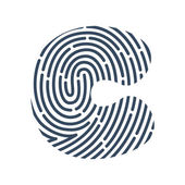 C letter line logo.