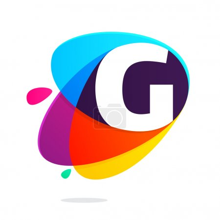 G letter with ellipses intersection
