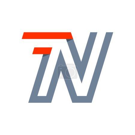 N letter fast speed logo.