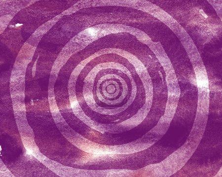 Photo pour Modèle de fond des cercles concentriques. Effet illusion optique - image libre de droit
