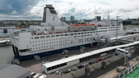 Princess Anastasia ferry in Port of Tallinn