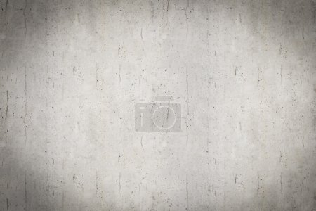 Photo for Old grungy white concrete wall background. Texture - Royalty Free Image