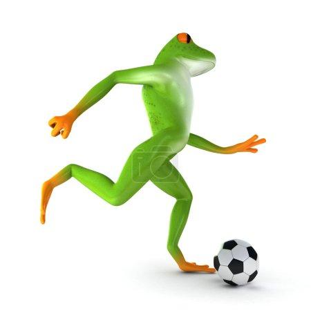 Tropical sport frog