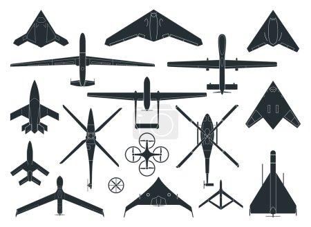 Drones - illustration.