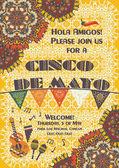 Cinco de Mayo Mexican festive poster template